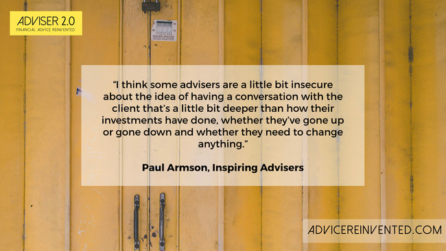 Paul Armson: Financial advisers are facing a perfect storm