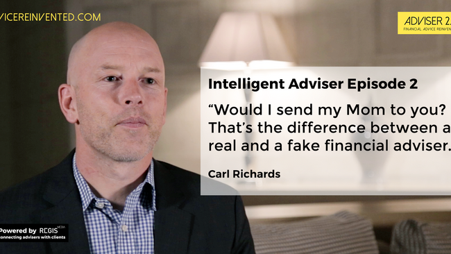 What Carl Richards means by real financial advice