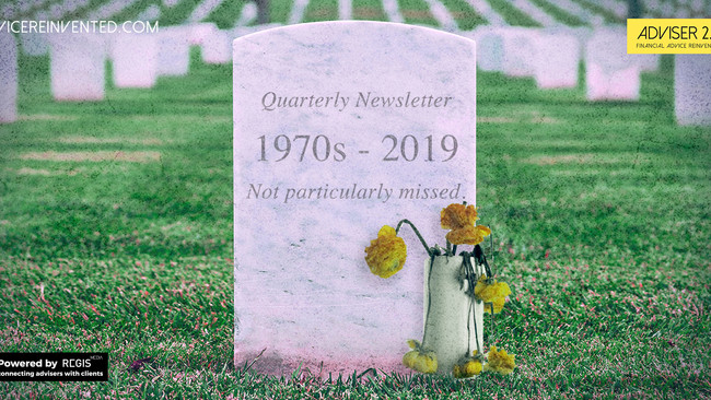 Quarterly newsletters RIP