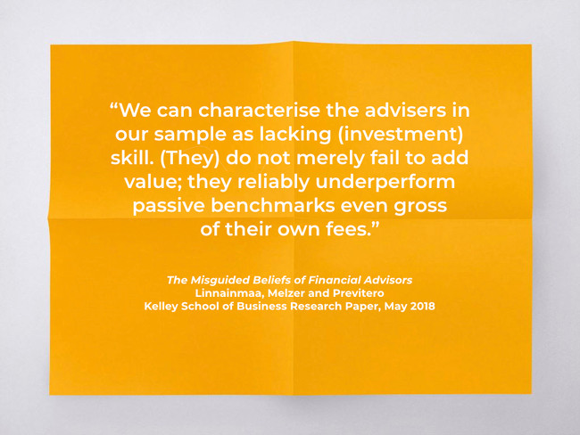 Why do so many advisers still recommend active funds?