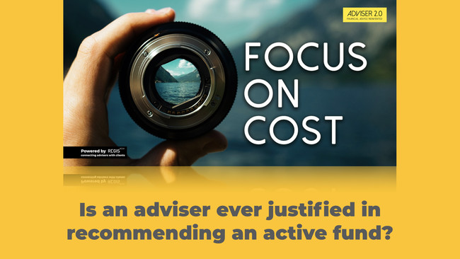 Should an adviser ever recommend an active fund?