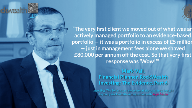 Mark Vail: Genuine fiduciaries cannot ignore evidence-based investing