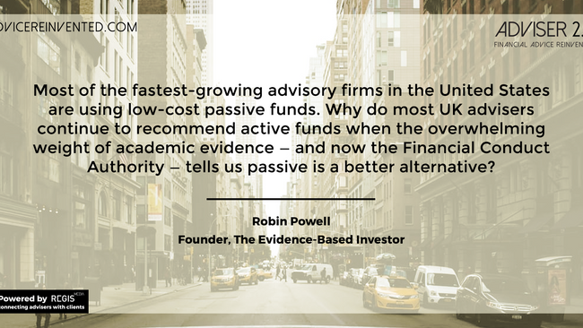 Why do so many advisers continue to recommend active funds?