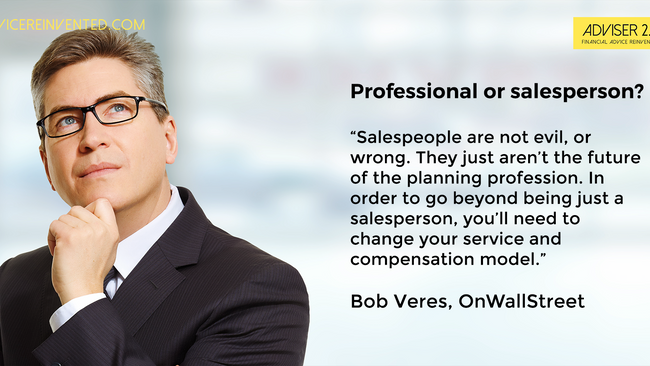 Professional or salesperson: Which one are you?