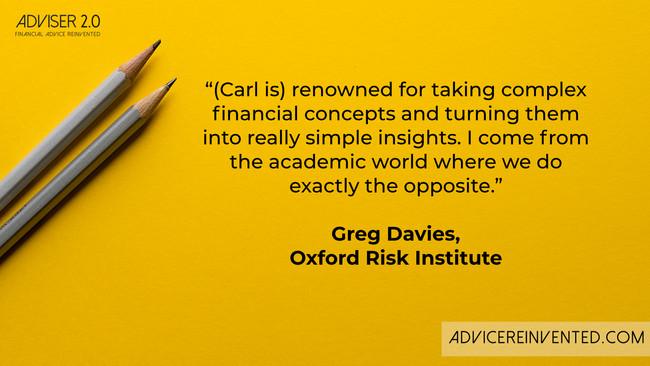 Carl Richards & Greg Davies on managing investor behaviour