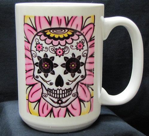 Frenzy Art - Ramillette del Luto - Day of the Dead Coffee Mug