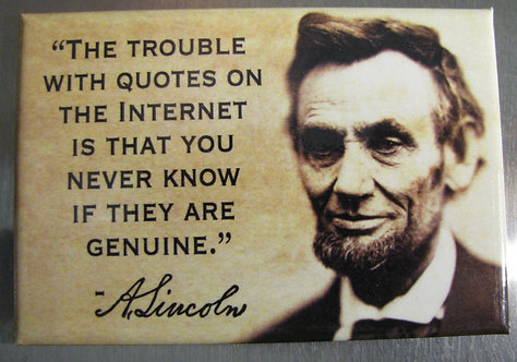 the trouble with quotes - magnet