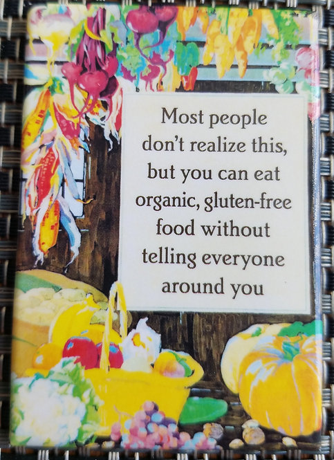 organic, gluten-free food - Magnet