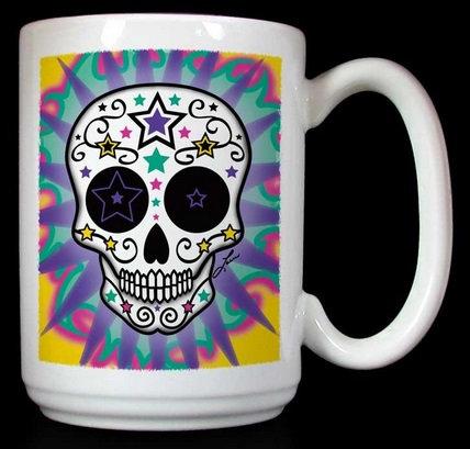 Frenzy Art - Estrellas Infinitas - Day of the Dead Coffee Mug