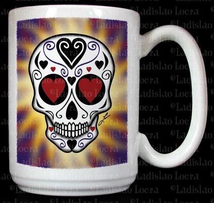 Frenzy Art - Amor Eterno - Day of the Dead Coffee Mug