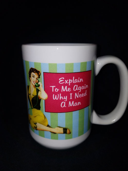 Bridal Shower Gift Mug - explain to me again...