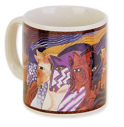 Laurel Burch Horse Lovers Mug - Moroccan Mares