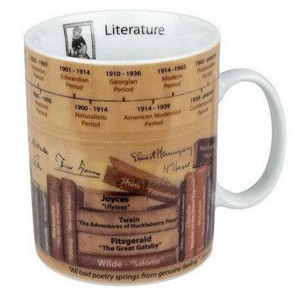 Lover of Literature Coffee Mug