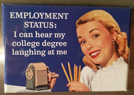 employment status - magnet