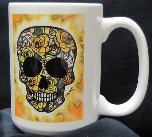 Frenzy Art - Rosa - Day of the Dead Coffee Mug