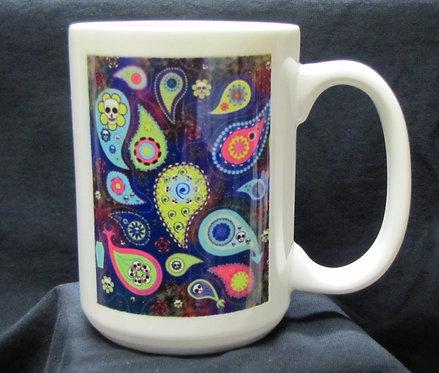 Frenzy Art - La Cachemira - Day of the Dead Coffee Mug