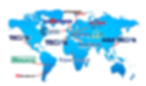Tecna dealers map