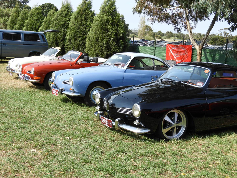 Karmann Ghia Owners line-up