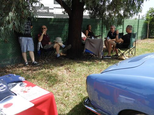 Karmann Ghia Members keeping cool