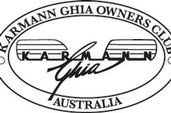 Karmann Ghia Owners Club Family Membership