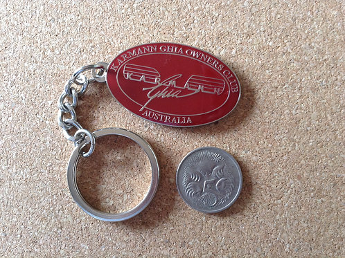 Karmann Ghia Owners Key Rings