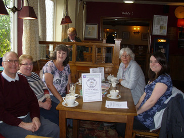 "May 2015 ""have a cuppa for M.E"" Mannor Farm pub"