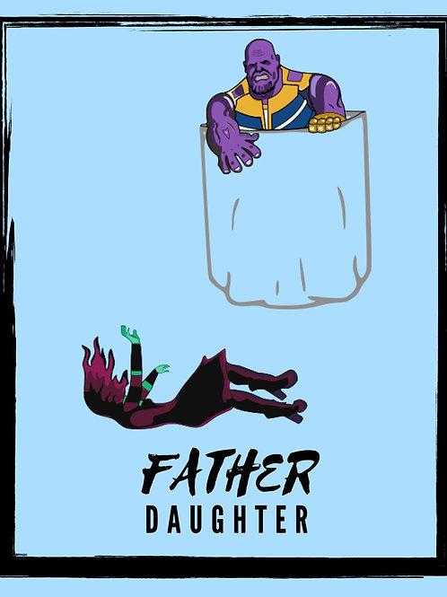 Thanos drops Gamora