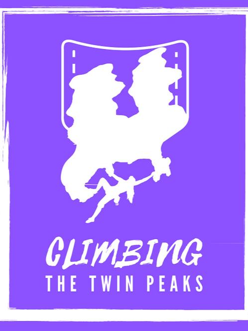 Climbing the Siamese Twins rocks