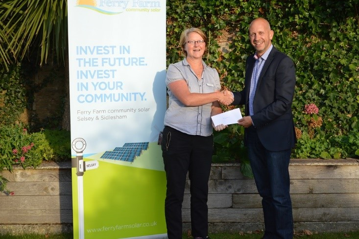 Selsey Works recieve grant