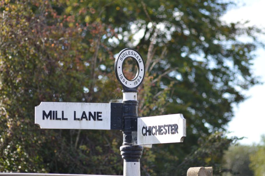 Old Sidlesham Signpost