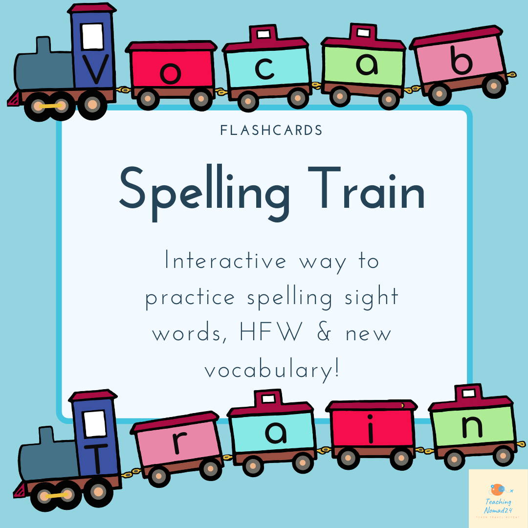 Spelling Train