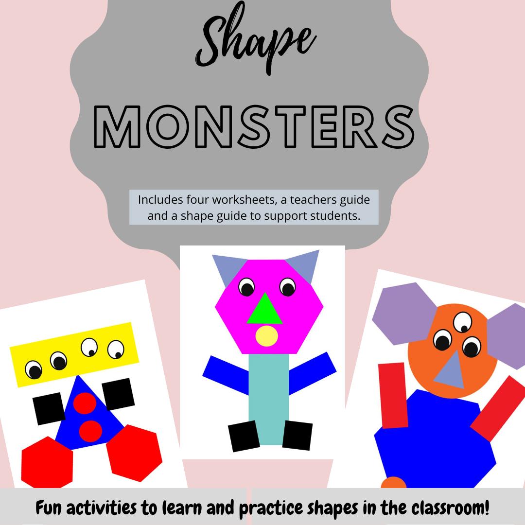 Shape Monster Activities