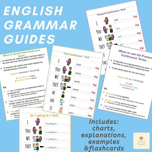 English Grammar Conjugation Guide