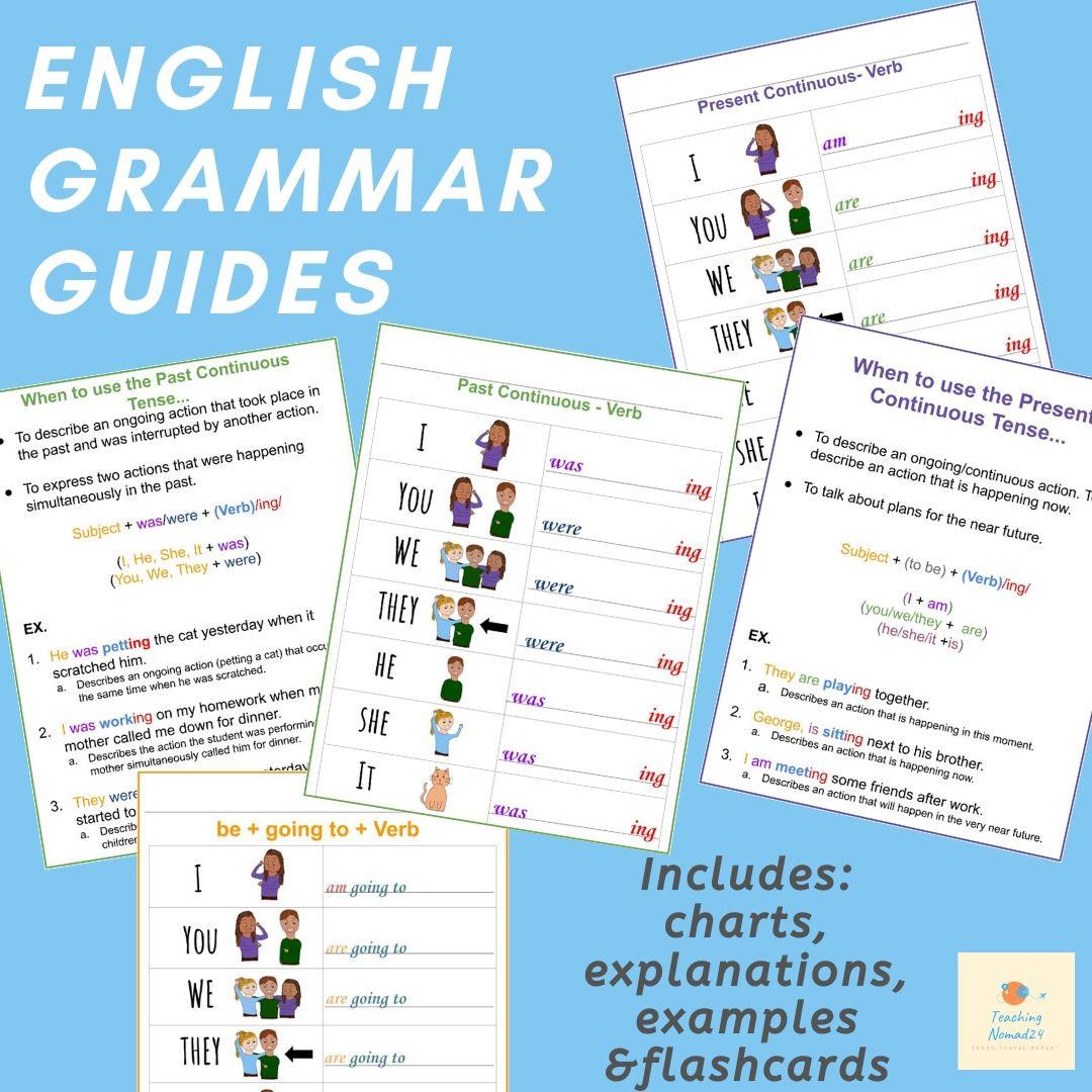 English Grammar Conjugation Guide