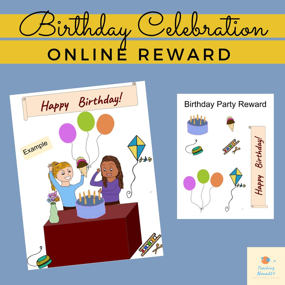 Birthday Celebration Reward
