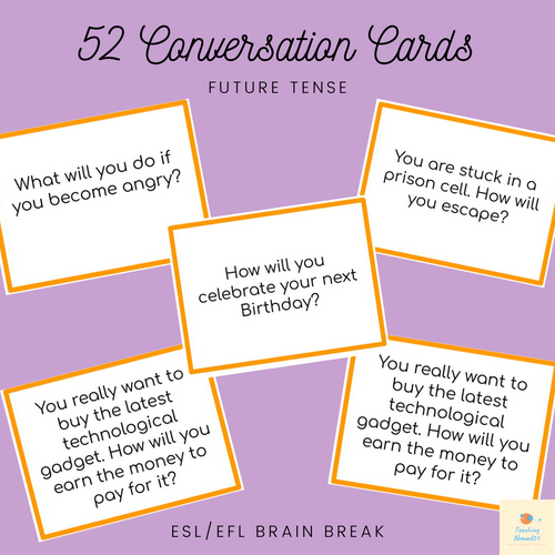 52 Future Question Cards
