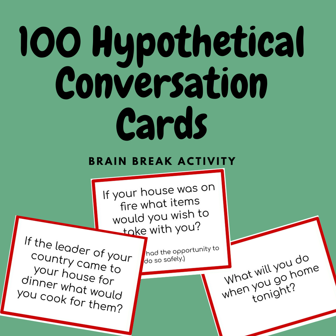 100 Conditional Question Cards