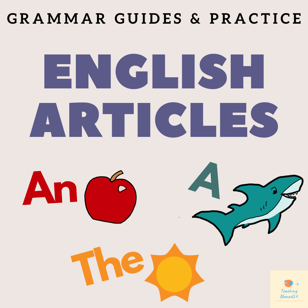 English Article Grammar Guide & Worksheets