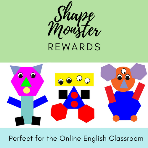 Shape Monster Reward System