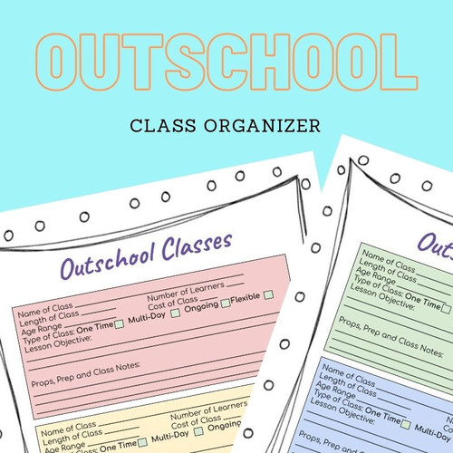 Outschool Lesson Planning Tool