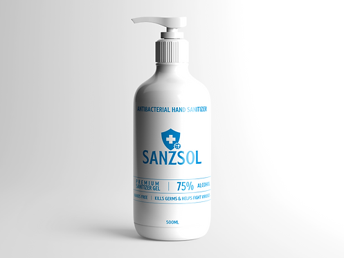 Antibacterial Hand Sanitizer - 500ml