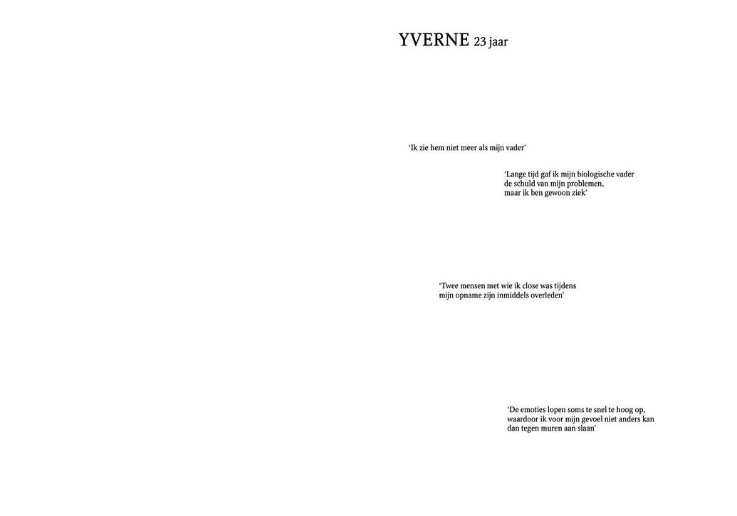 Yverne, 23 jaar