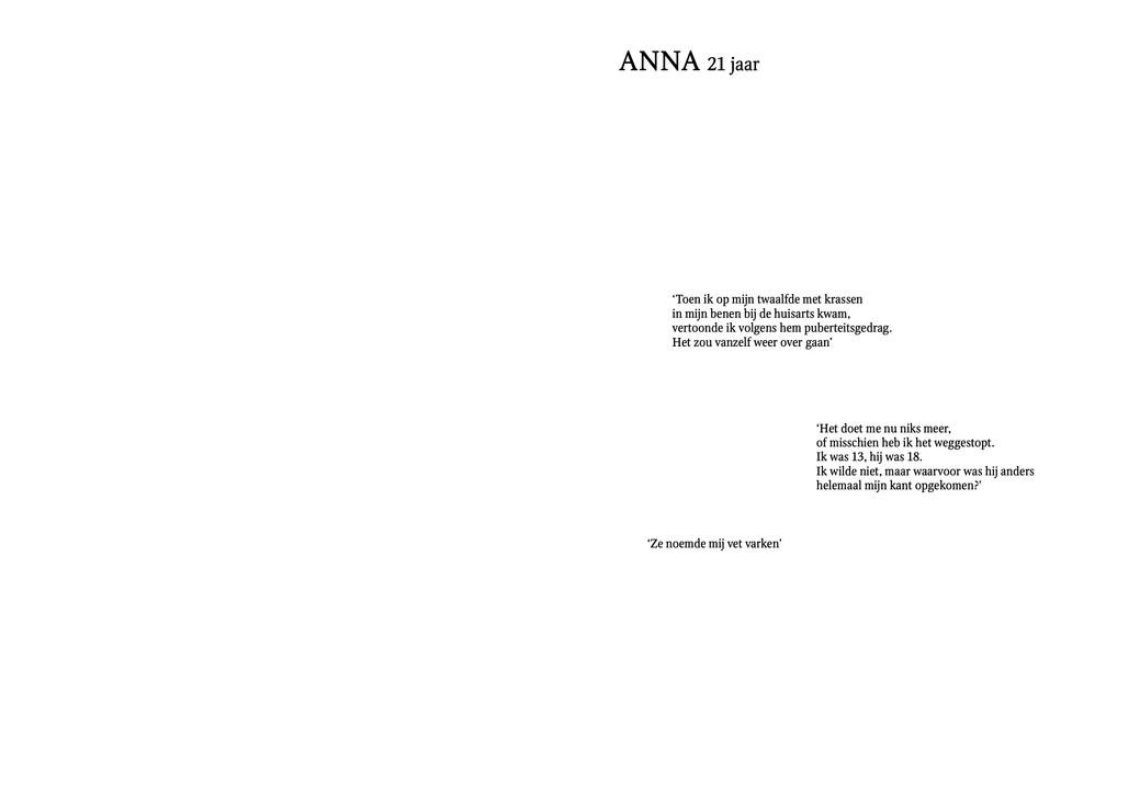 Anna, 21 jaar