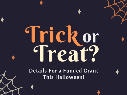 Is It A Trick? Nope! These Details Will Bring Your Nonprofit Funding Treats!