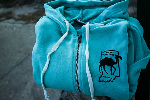 Comfy Camel Zip-Up Sweatshirts