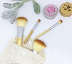 Vegan Bamboo Brush Set