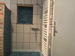 Badezimmer Ansicht Dusche