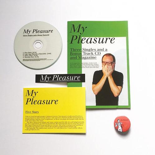 Three Singles and a Bonus Track CD and Magazine
