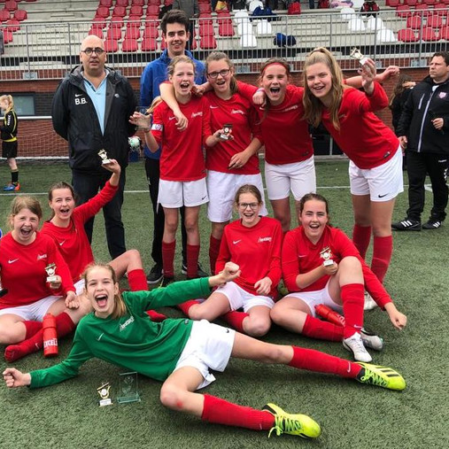 1ste plaats - Excelsior '31 MO13