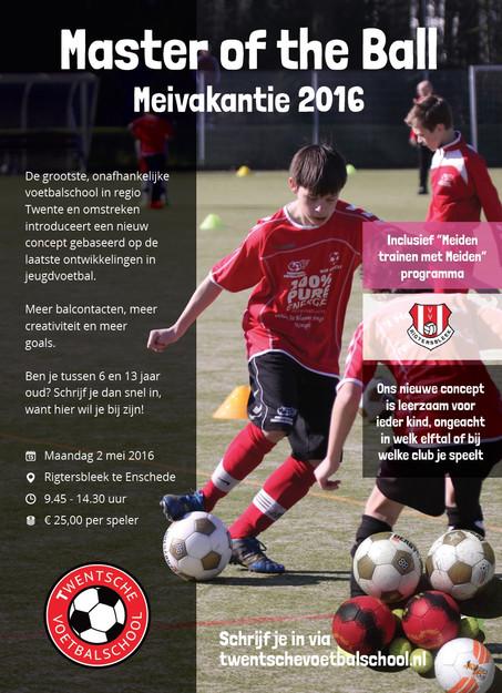 Samenwerking met Twentsche voetbalschool